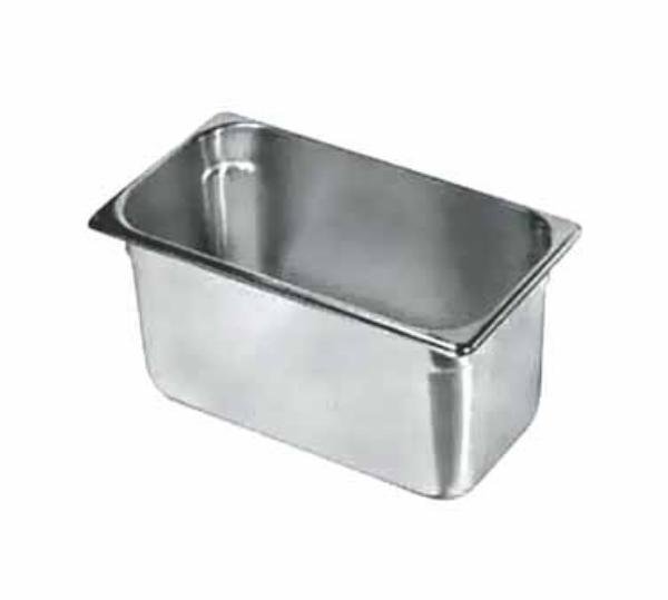 Update International NJP-334 Third-Size Steam Pan, Stainless