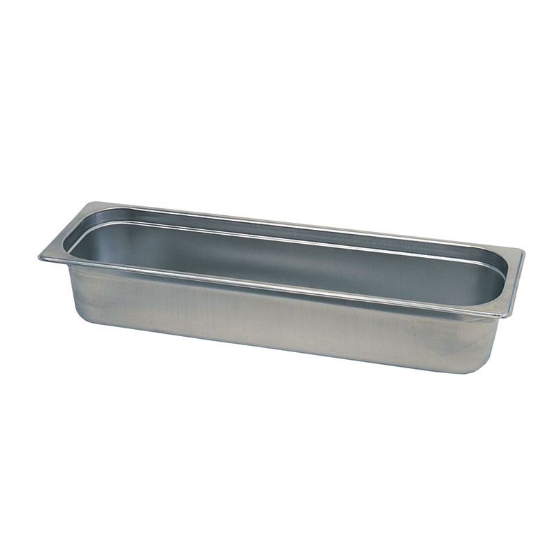 Update International NJP-504L 1/2 Size 4 in Deep Anti-Jam Steam Table Pan Restaurant Supply