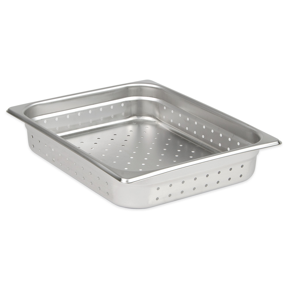Update NJP-502PF Half-Size Steam Pan - Perforated Stainless