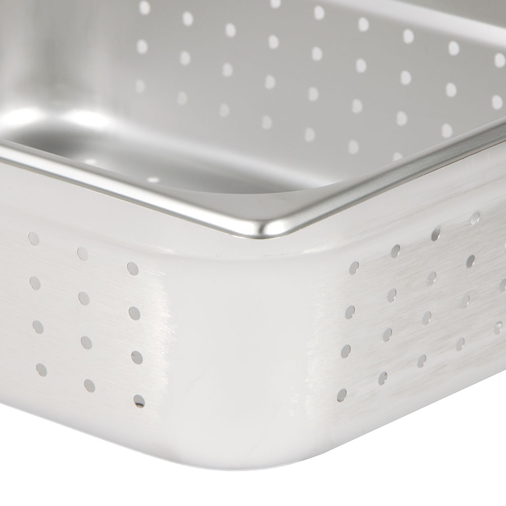 Update NJP-504PF Half-Size Steam Pan - Perforated Stainless