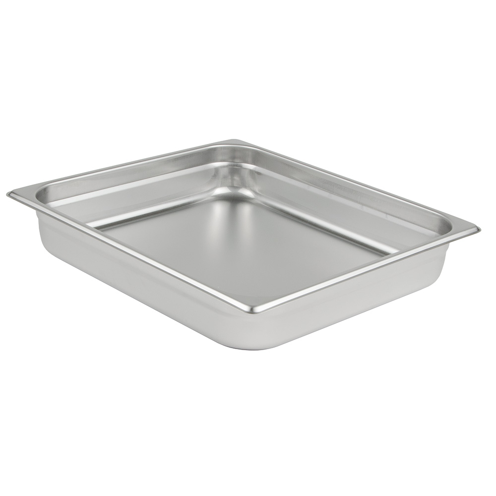 Update International NJP-662 Two-Thirds Size Steam Pan, Stainless