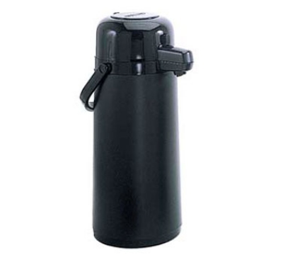 Update NPDB-22/BK/BT 2.2 Liter Glass Lined Airpot, Black Push Button Top