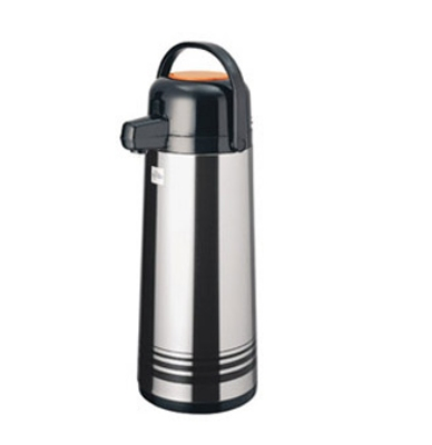 Update International NPD-22/OR/BT 2.2 Liter Stainless Steel Body Airpot Decaf Push Button Top Restaurant Supply