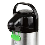 Update NVAP-22BK 2.2-liter Val-U-Air Airpot - Glass Liner, Black Push Top, Stainless