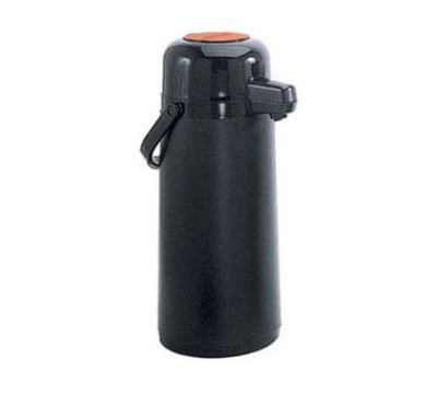 Update International NVAPB-22OR 2.2-liter Val-U-Air Airpot - Glass Liner, Orange Push Top, Black