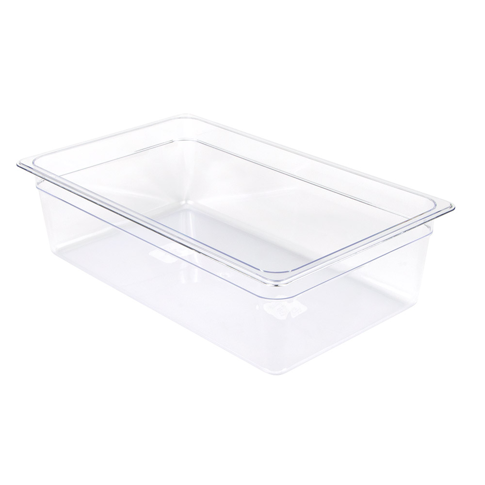 "Update PCP-1006 Full-Size Food Pan - 6"" Deep, Polycarbonate"