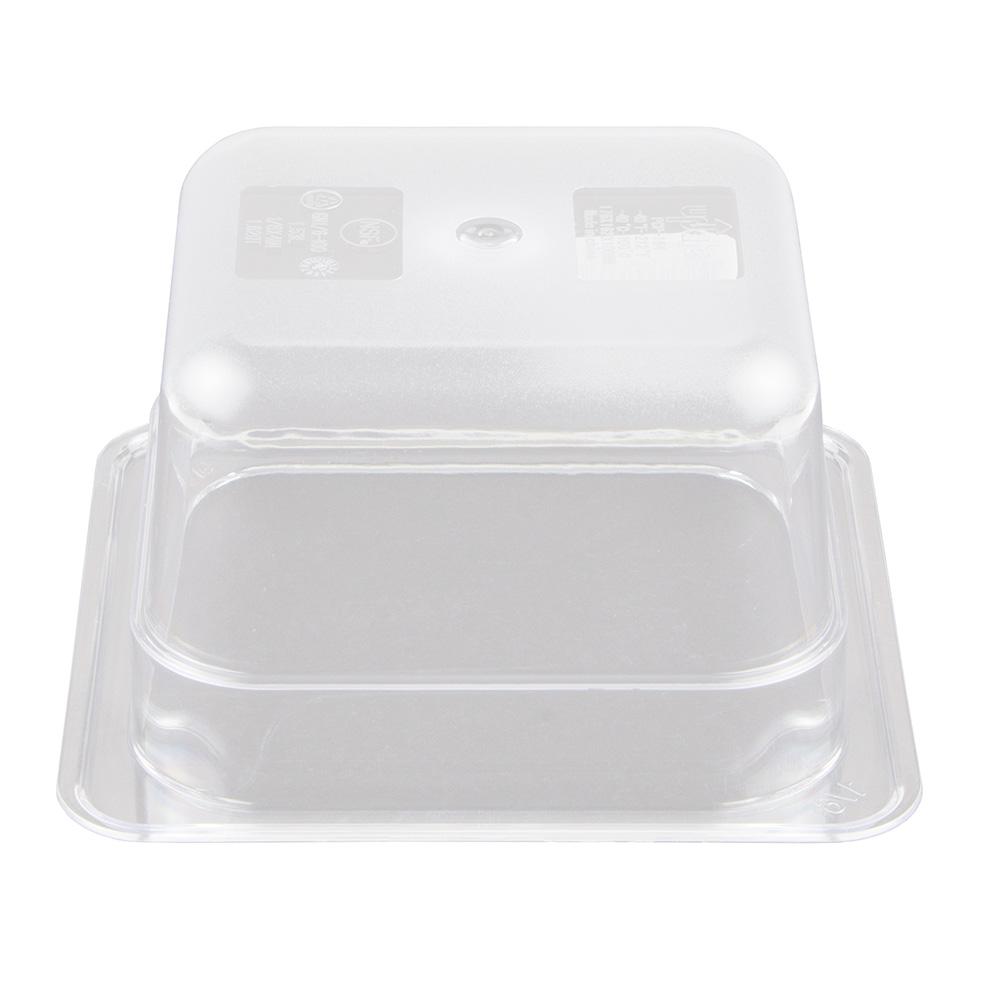 "Update PCP-164 1/6 Size Food Pan - 4"" D, Polycarbonate"