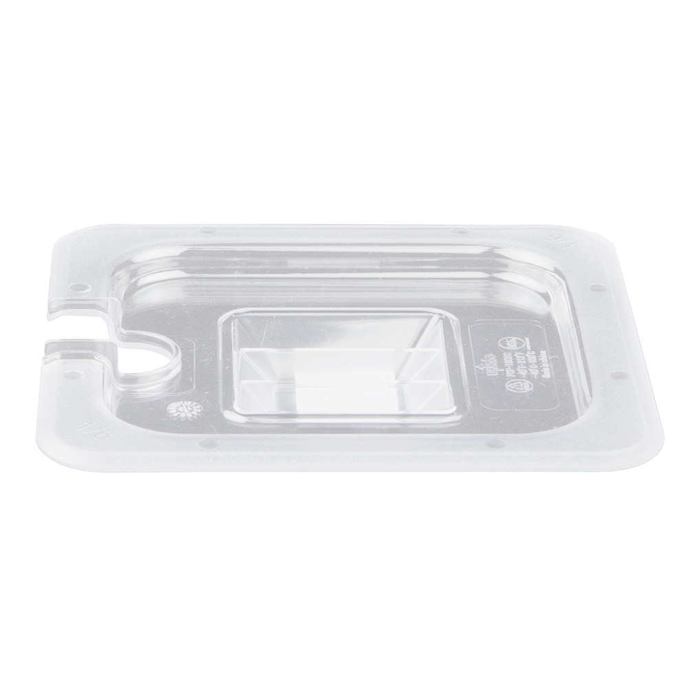 Update PCP-16CHC 1/6 Size Notched Food Pan Cover - Polycarbonate