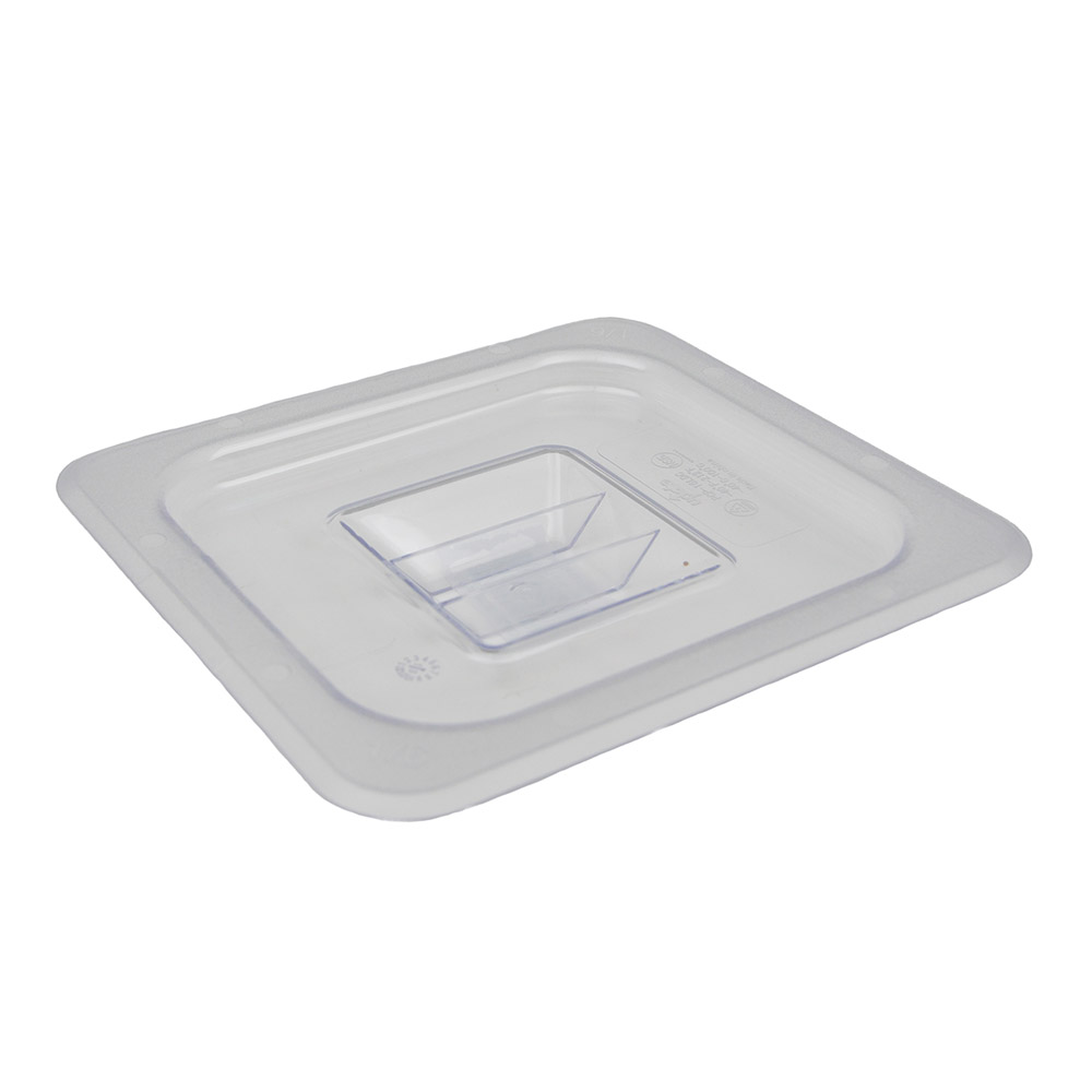 Update International PCP-16LDC 1/6 Size Solid Food Pan Cover - Polycarbonate