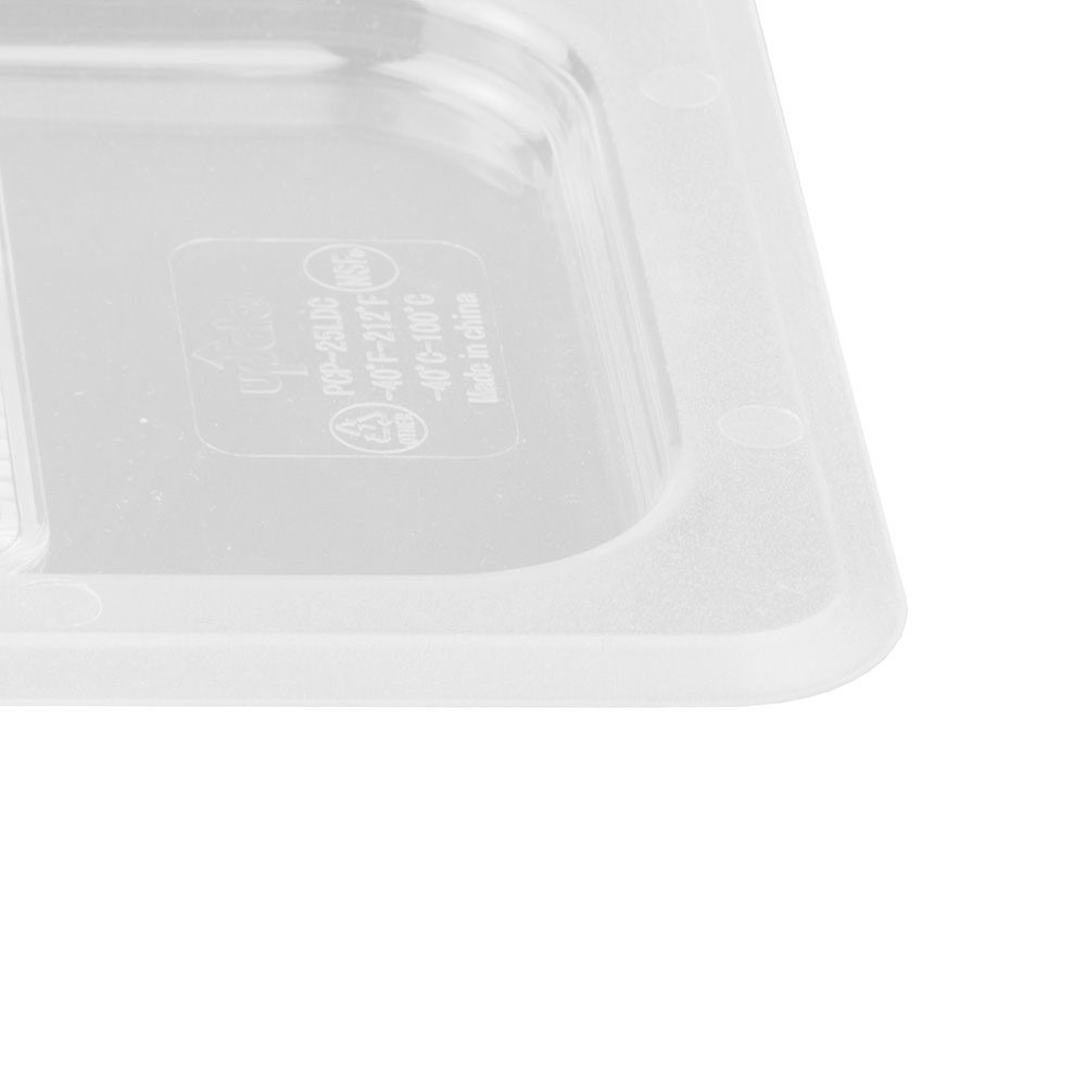 Update PCP-25LDC 1/4 Size Solid Food Pan Cover - Polycarbonate