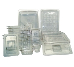 "Update PCP-338 1/3 Size Food Pan - 8"" D, Polycarbonate"