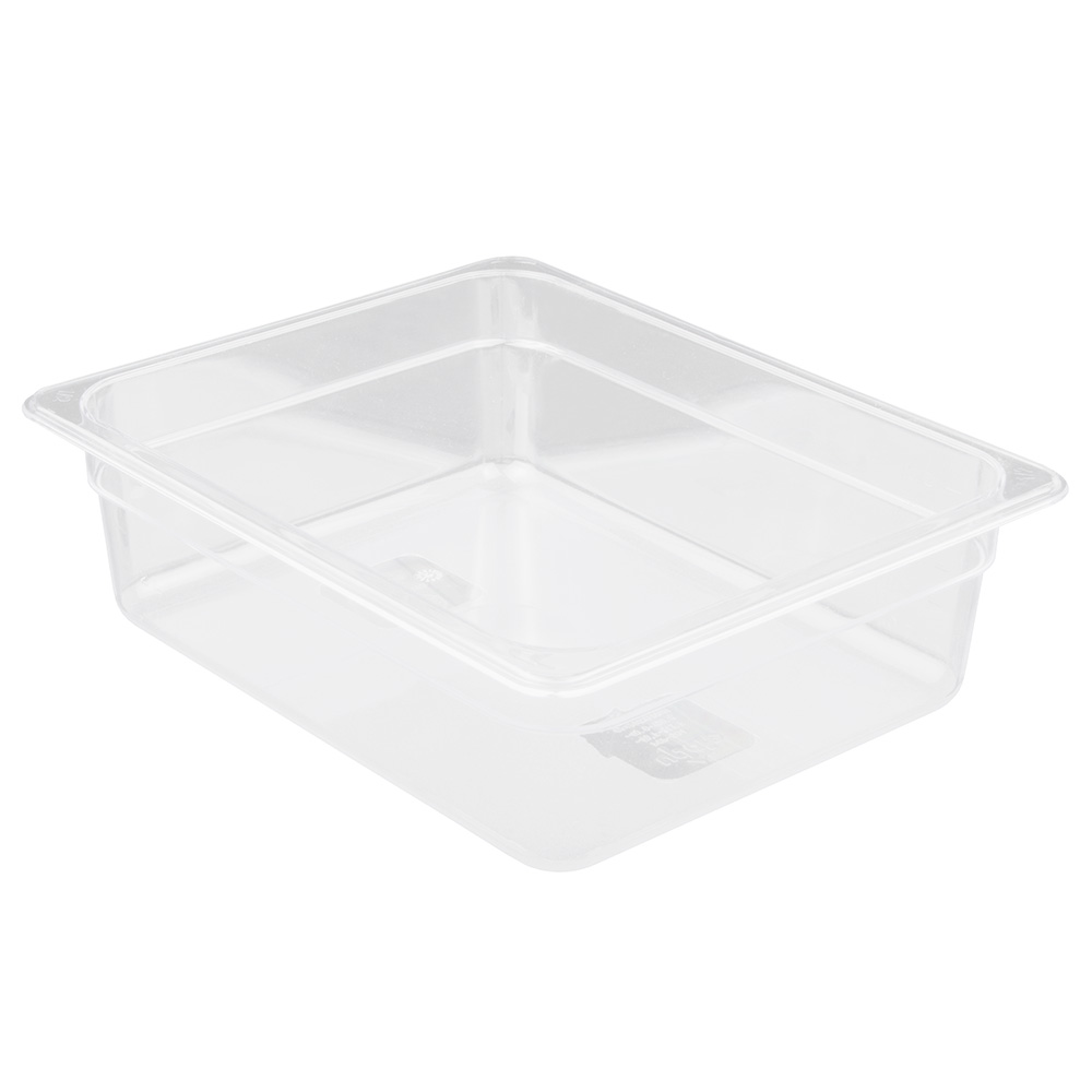 "Update PCP-504 1/2 Size Food Pan - 4"" D, Polycarbonate"