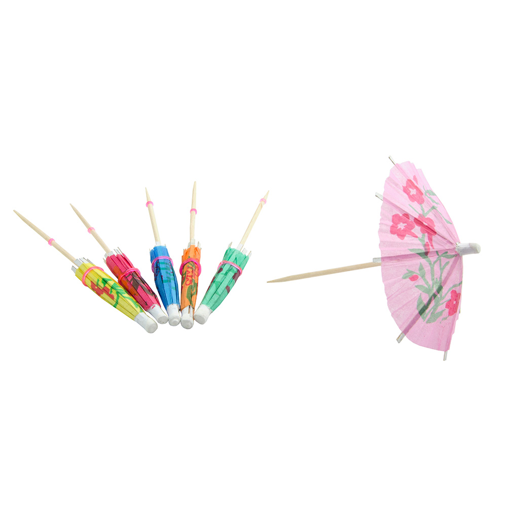 Update International PC-PAR Cocktail Parasol Picks - 144 per Box