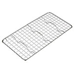 "Update PG510 1/3 Size Wire Pan Grate - 5x10"" Chrome-Plated"