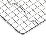 """Update PG510 1/3 Size Wire Pan Grate - 5x10"""" Chrome-Plated"""