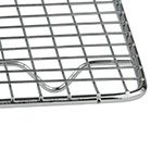 """Update PG810 1/2 Size Wire Pan Grate - 8x10"""" Chrome-Plated"""