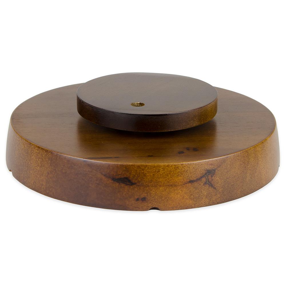"""Update PP-512 12"""" Round Pu Pu Platter - 5-Compartment"""