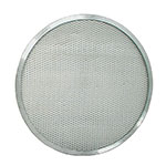 "Update International PS-16 16"" Pizza Screen - Seamless Rim, Aluminum"