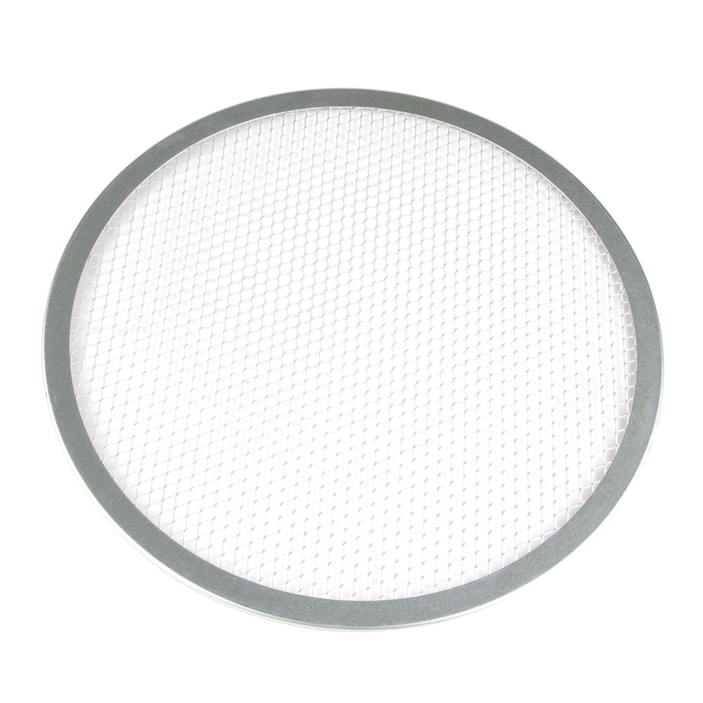 "Update PS-12 12"" Pizza Screen - Seamless Rim, Aluminum"