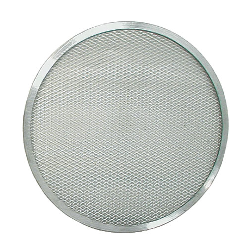 "Update PS-16 16"" Pizza Screen - Seamless Rim, Aluminum"