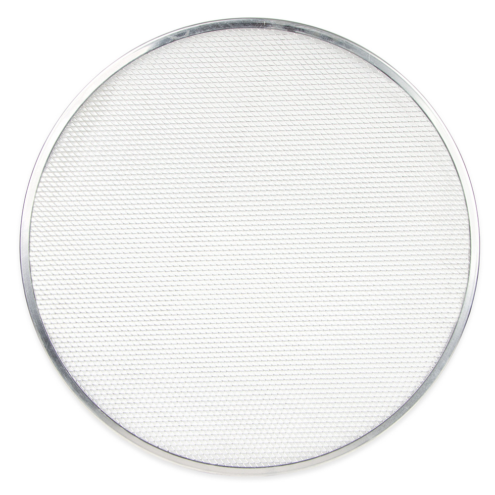"Update PS-20 20"" Pizza Screen - Seamless Rim, Aluminum"