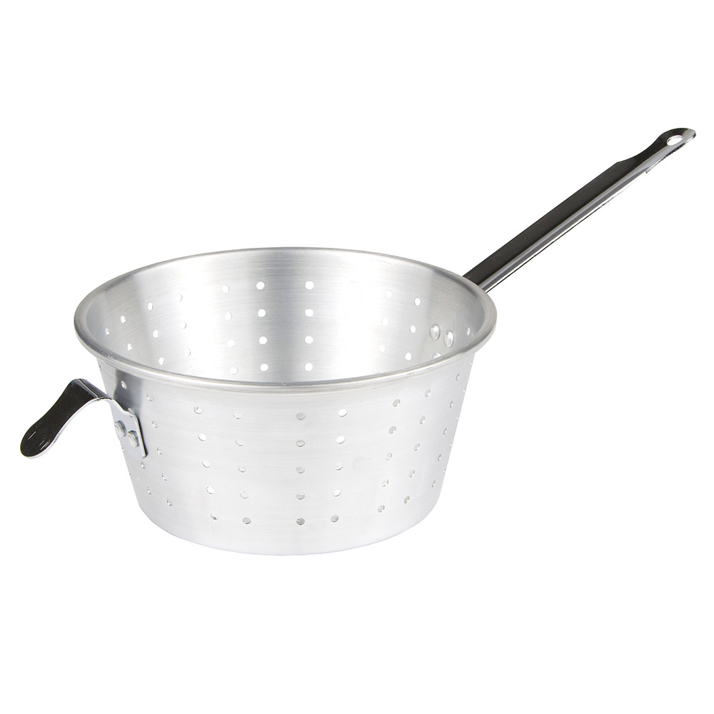 "Update International PSA-9 9"" Round Pan Strainer - Aluminum"