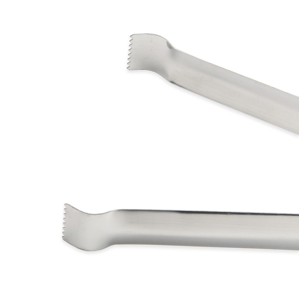 """Update PT-12 12"""" Stainless Pom Tongs"""