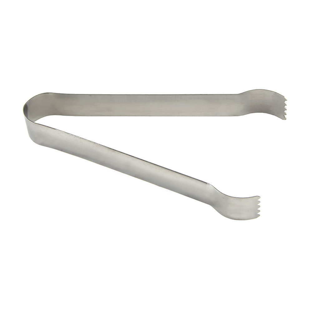 "Update PT-6 6"" Stainless Pom Tongs"