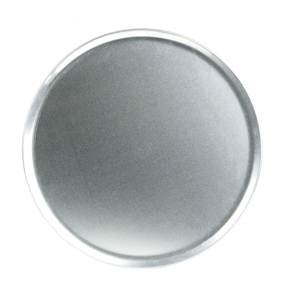 "Update PT-CS14 14"" Coupe Pizza Tray - Aluminum"