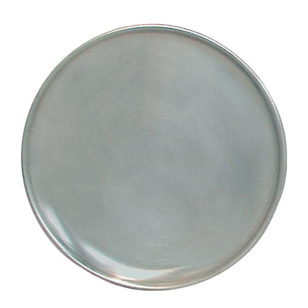 "Update PT-CS15 15"" Coupe Pizza Tray - Aluminum"