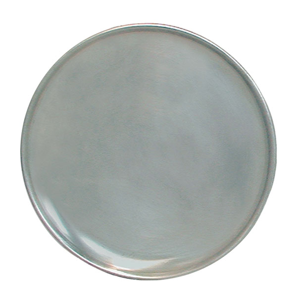 "Update PT-CS17 17"" Coupe Pizza Tray - Aluminum"