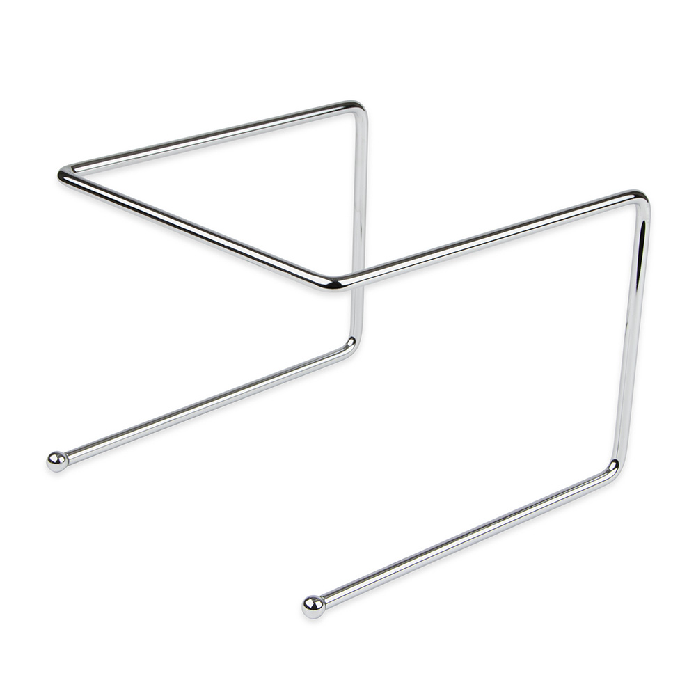 "Update International PTS-9 Pizza Tray Stand - 9x8x7"" Chrome Plated Steel Rod"