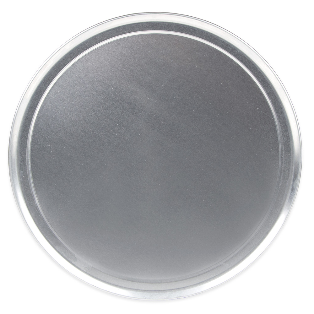 "Update PT-WR15 15"" Wide Rim Pizza Tray - Aluminum"