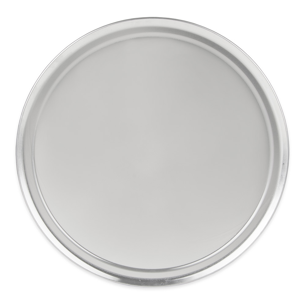 "Update PT-WR16 16"" Wide Rim Pizza Tray - Aluminum"