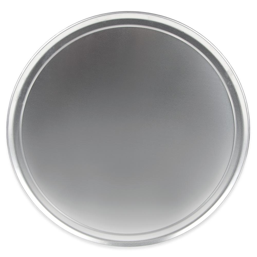 "Update PT-WR17 17"" Wide Rim Pizza Tray - Aluminum"