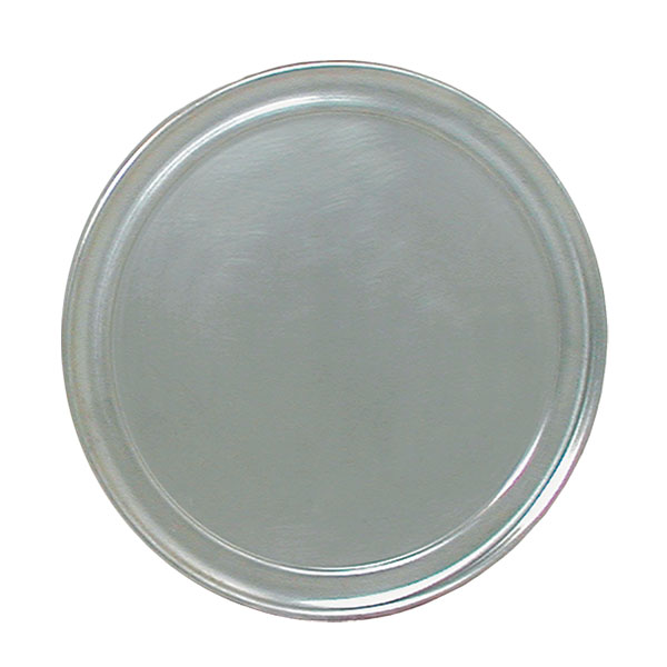 "Update PT-WR18 18"" Wide Rim Pizza Tray - Aluminum"