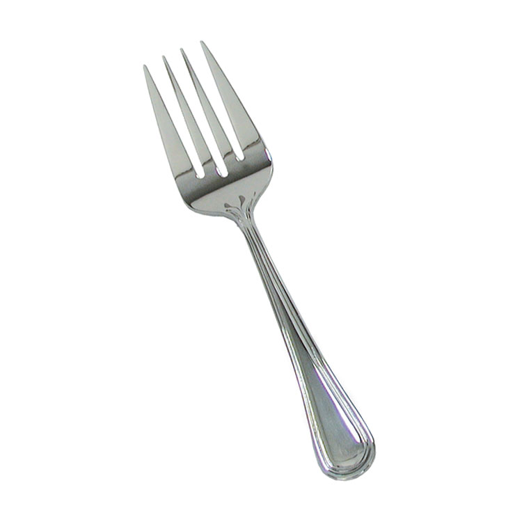 "Update RE-116 8-1/2"" Regency Cold Meat Fork - 18/8-ga Stainless"