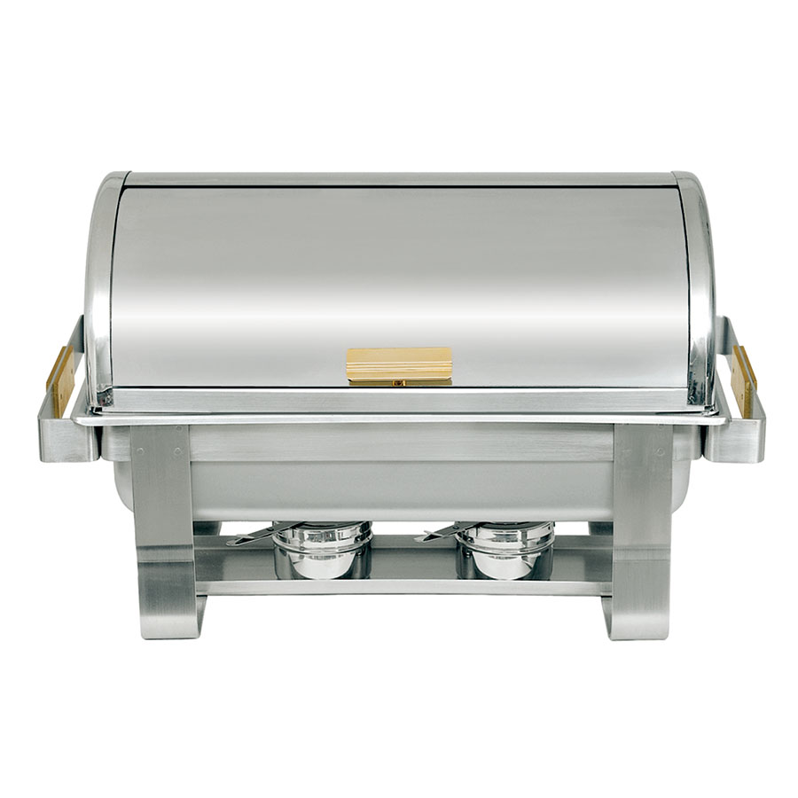 Update RTC-8 8-qt Heavy Duty Chafer - Roll-Top, Brass Handles, Stainless