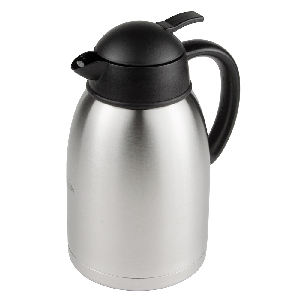 Update SA-19X 1.9-liter Sup-R-Serv Coffee Server - Push Button, Stainless