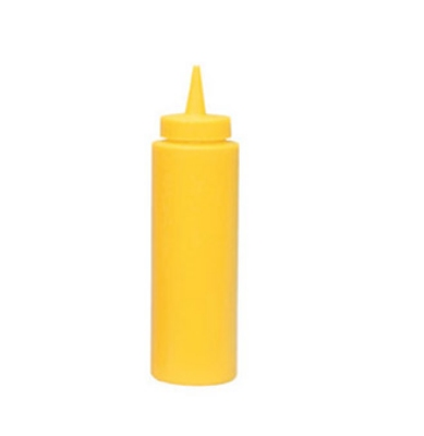 Update International SBY-24 24-oz Squeeze Bottle - 6-pack, Yellow