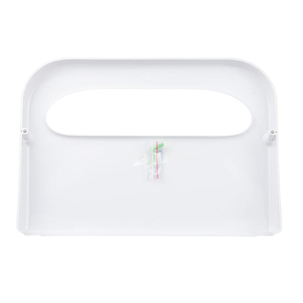 Update SCD-50WP Half-Fold Toilet Seat Cover Dispenser - White Plastic