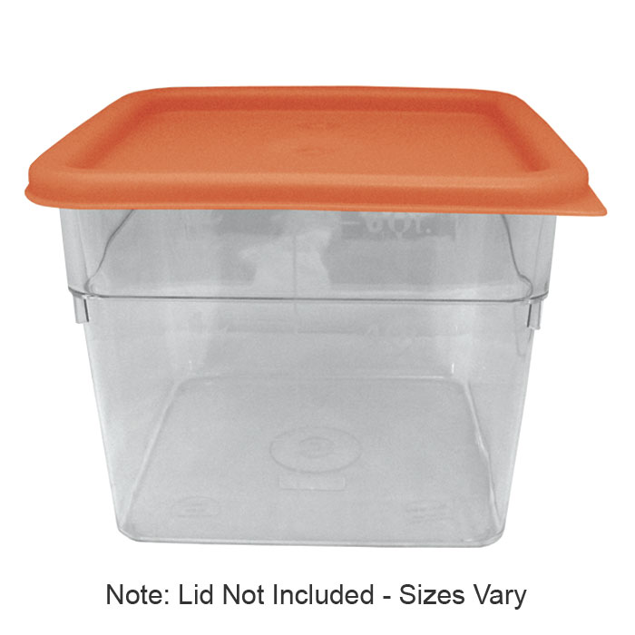 Update SCQ-18PC 18-qt Square Storage Container - Polycarbonate