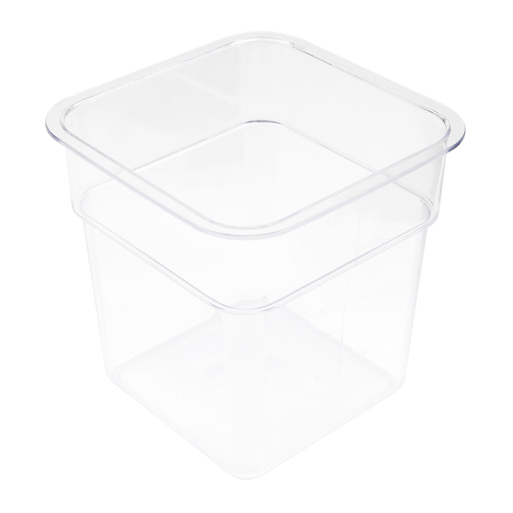 Update SCQ-4PC 4-qt Square Storage Container - Polycarbonate
