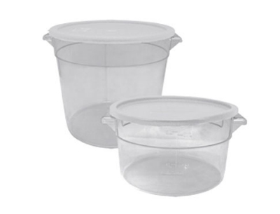 Update International SCR-2PC 2-qt Round Storage Container - Polycarbonate