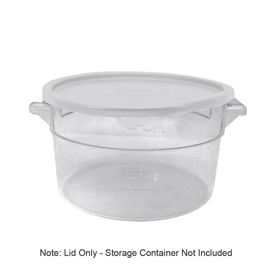 Update SCRL-LPE Cover, for 12, 18 & 22-qt Storage Containers, White