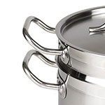 """Update SDB-08 9.5"""" Stainless Steel Double Boiler w/ 8-qt Capacity"""