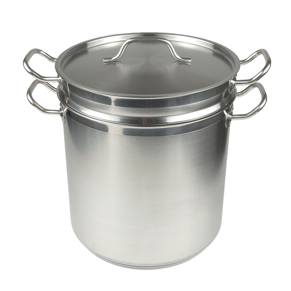 """Update SDB-20 12"""" Stainless Steel Double Boiler w/ 20-qt Capacity"""