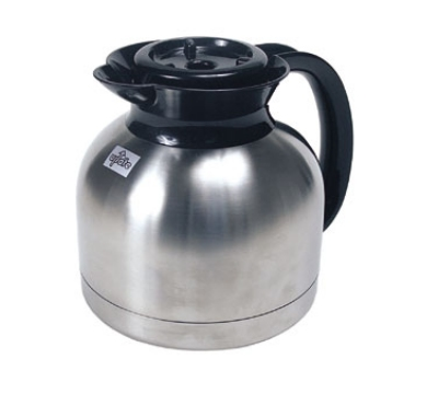 Update International SE-19X 1.9 Liter Stainless Steel Insulated Bru-Thru Coffee Server