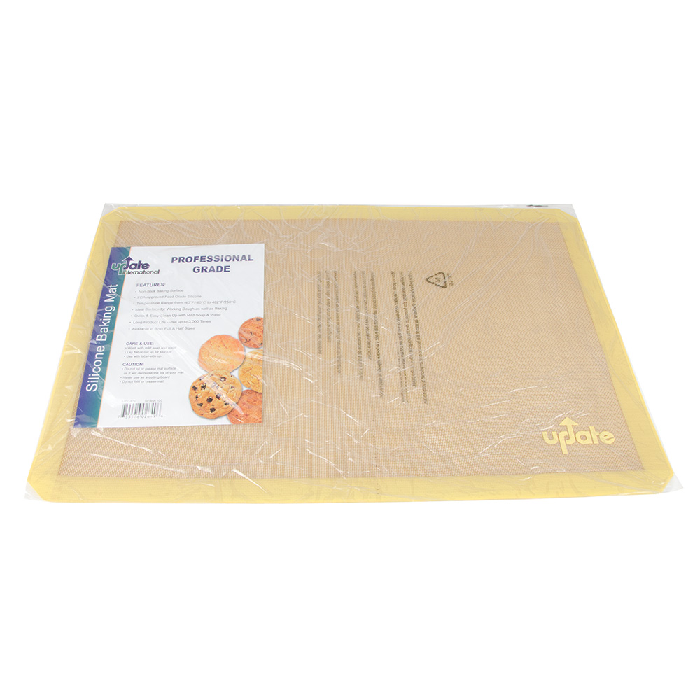 "Update International SFBM-100 Baking Mat - 24-1/2x16-1/2"" Silicone"