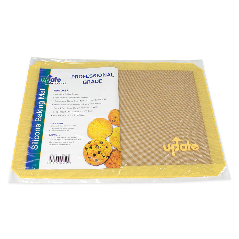 "Update International SFBM-50 Baking Mat - 11-3/4x16-1/2"" Silicone"